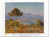 Antibes- Notre-dame Art by Claude Monet