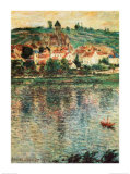 Vertheuil, c.1901 Print by Claude Monet