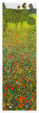 Campo Di Papaveri Affiches par Gustav Klimt