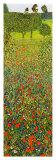 Campo Di Papaveri Affiches par Gustav Klimt