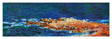 La Grande Bleue a Antibes, c.1888 (detail) Posters by Claude Monet