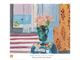 Vase Of Flowers Poster by Henri Matisse
