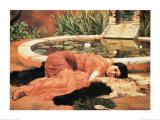Dolce Far Niente Psteres por John William Godward