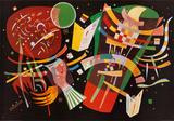 Sammensetning X, ca. 1939 Kunst av Wassily Kandinsky