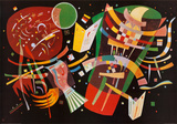 Komposition X Arte por Wassily Kandinsky
