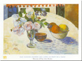 Flowers And Bowl Art by Paul Gauguin