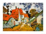 Vincent van Gogh - Street in Auvers (Les Toits Rouges), c.1890 Reprodukce