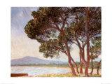 La Plage de Juan-les-Pins Prints by Claude Monet