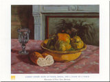 Bowl Of Pears Poster von Albert Andre