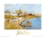 Sand on the Quayside at Port-Marly Prints by Alfred Sisley
