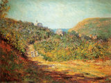 Petites Dalles, c.1884 Prints by Claude Monet