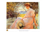 Eleanor Print by Frank Weston Benson