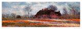 Tulip Fields at Sassenheim (detail) Kunstdrucke von Claude Monet