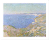The Cliffs near Dieppe, c.1897 Affiches par Claude Monet
