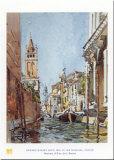 Rio Di San Barnaba Posters by Edward Darley Boit