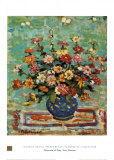 Flowers In A Blue Vase Prints by Maurice Brazil Prendergast