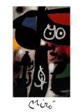 Frau und Vogel, c.1968 Posters by Joan Miró