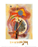 Omaggio a Grohmann Poster di Wassily Kandinsky