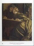 Die Flitterwochen des Malers, 1864 Kunstdruck von Frederick Leighton
