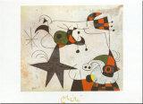 Joan Miró - Rythme Passage du Serpent - Reprodüksiyon