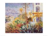 Bordighera Posters van Claude Monet