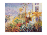 Bordighera Print by Claude Monet