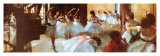 Ecole de Danse (detail) Poster by Edgar Degas