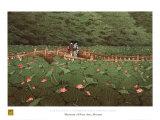 Benton Shrine Reprodukcje autor Kawase Hasui