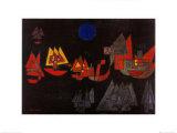 Schiffe im Dunkeln, c.1927 Art by Paul Klee