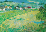 Sunny Meadow in Arles, c.1890 Poster van Vincent van Gogh
