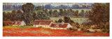 Campo de amapolas en Giverny (detalle) Pósters por Claude Monet