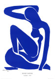 Nu Bleu I, c.1952 Print by Henri Matisse