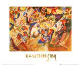Studio per Composizione VII Poster di Wassily Kandinsky