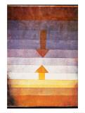 Scheidung Abends, c.1922 Affiches par Paul Klee