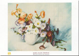 Petunias Print by Mabel Julian