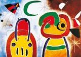 L'Oisauau Plumage Deploye Plakater av Joan Miró