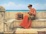 Sweet Sounds Prints by John William Godward