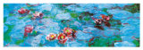 Water Lilies (detail) Poster di Claude Monet