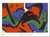 The Blue Rider Prints by Franz Marc