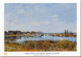 Saint-mammes: Morning Posters by Alfred Sisley