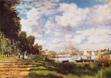 II Bacino Di Argenteuil Poster by Claude Monet