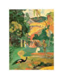 Matamoe Prints by Paul Gauguin