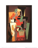 L'Italienne, c.1917 Plakater av Pablo Picasso