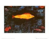 The Golden Fish, c.1925 Kunst af Paul Klee