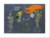 Mit dem Pfeil, c.1943 Print by Wassily Kandinsky