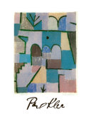 Garten im Orient, c.1937 Prints by Paul Klee