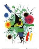 Der singende Fisch Poster von Joan Miró