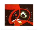 Kopf Kunstdrucke von Joan Miró
