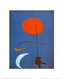 Entwurf fur eine Tapisserie Plakater af Joan Miró