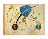 Vers le bleu, 1939 Affiche par Wassily Kandinsky